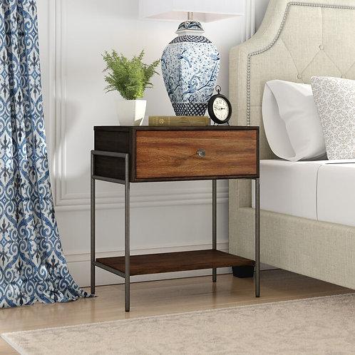 ASTERISK BEDSIDE TABLE