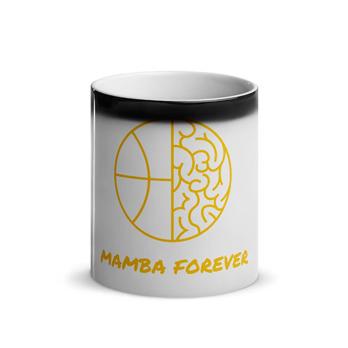Mamba Forever Glossy Magic Mug