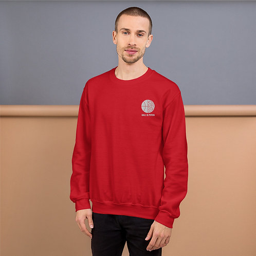 Ball is Psych Embroidered Sweatshirt
