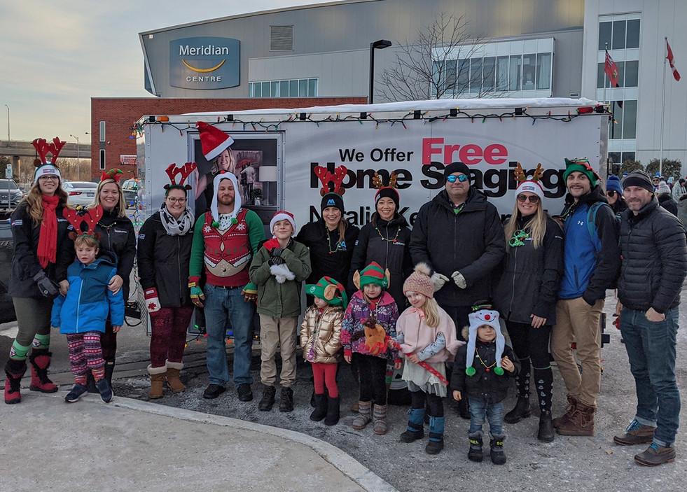 Santa Claus Parade Hot Chocolate Giveaway