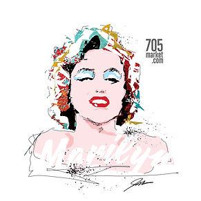 TEE SHIRT DESIGNS Marilyn.jpg