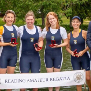Medals at Reading