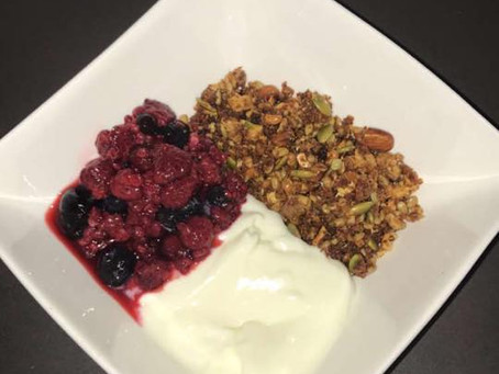 Our Famous TAL Nutty Granola Recipe