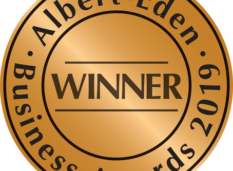 winners! aLBERT eDEN bUSINESS aWARDS 2019