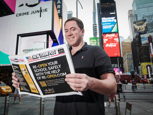 Major New York newspaper praises re-open.com