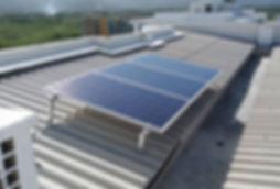 Kit Fotovoltaico em edifício residencial 0,81 kWp (3 placas de 270w Canadian Solar) em 8 blocos
