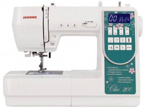 Janome Clio 200