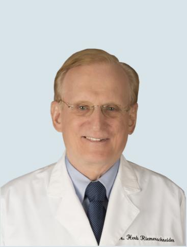 Herb Riemenschneider, M.D., Urologist, HIFU Patient, HIFU Physician