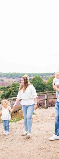 Familie fotoshoot Posbank Arnhem
