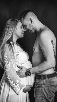Zwangerschap fotoshoot studio Winterswijk
