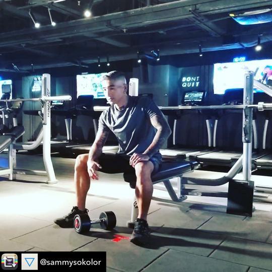 【4ward Fitness X KOLOR Sammy】