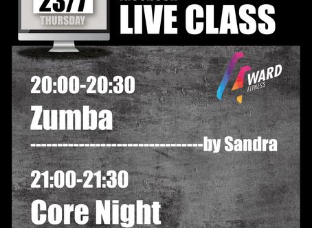 【停業不停練✨Live class schedule 23/7-26/7🗓】