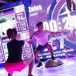 Fitness in motion! Experience the future