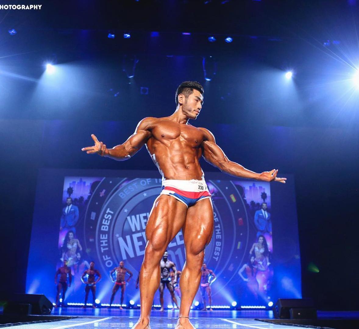 Kyle Kim, WBFF PRO