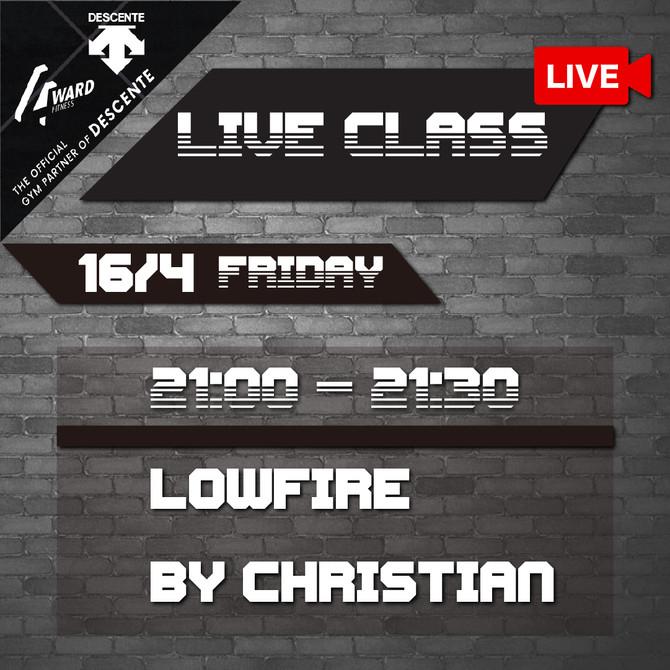 【✨Live class schedule 12/4-17/4🗓】