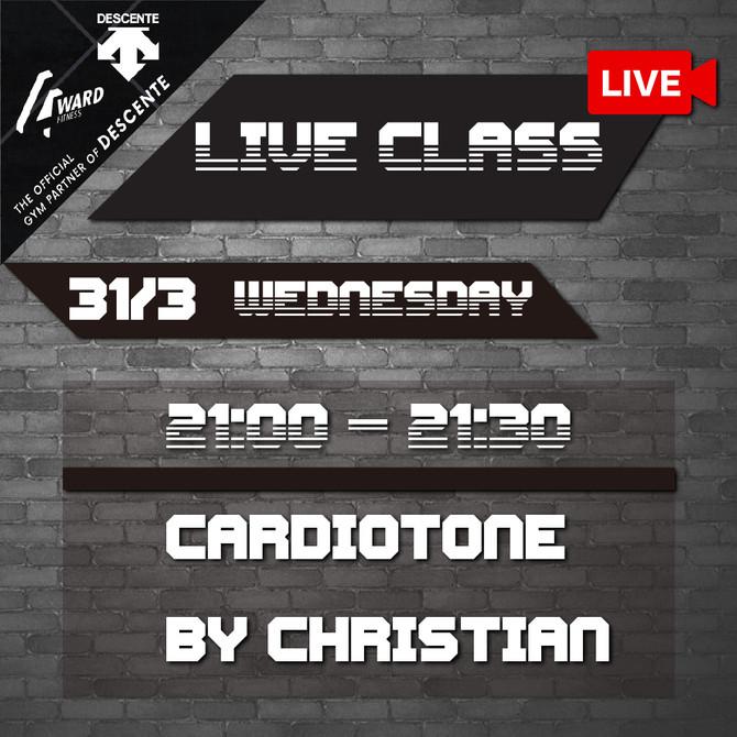 【✨Live class schedule 29/3-4/4🗓】
