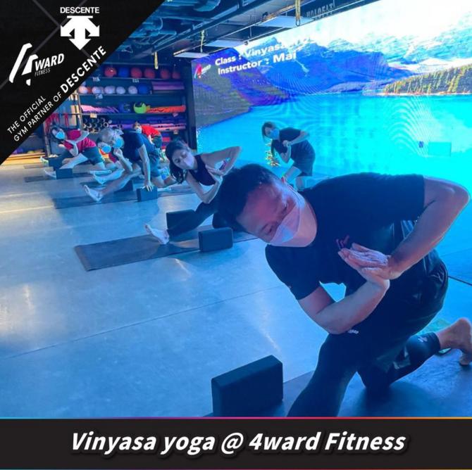 【Vinyasa yoga🌬️呼吸與身體的訓練】