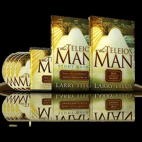 THE TELEIOS MAN KIT (BOOK, STUDY GUIDE & DVD SERIES)