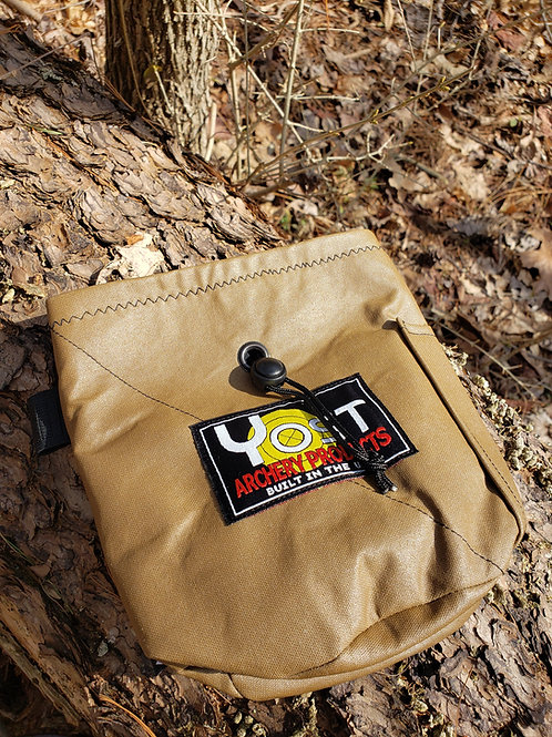 Coyote Brown Tab/Release Pouch-Limited Quantity