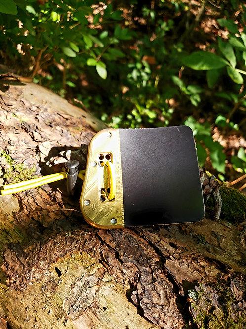 Brass 3-Under Pro Tab-Large Left Hand