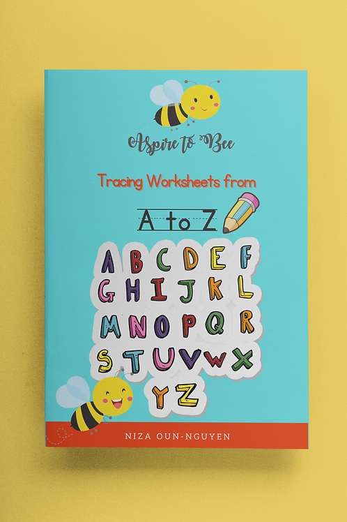 Aspire to Bee: Tracing Worksheets A to Z (Digital)
