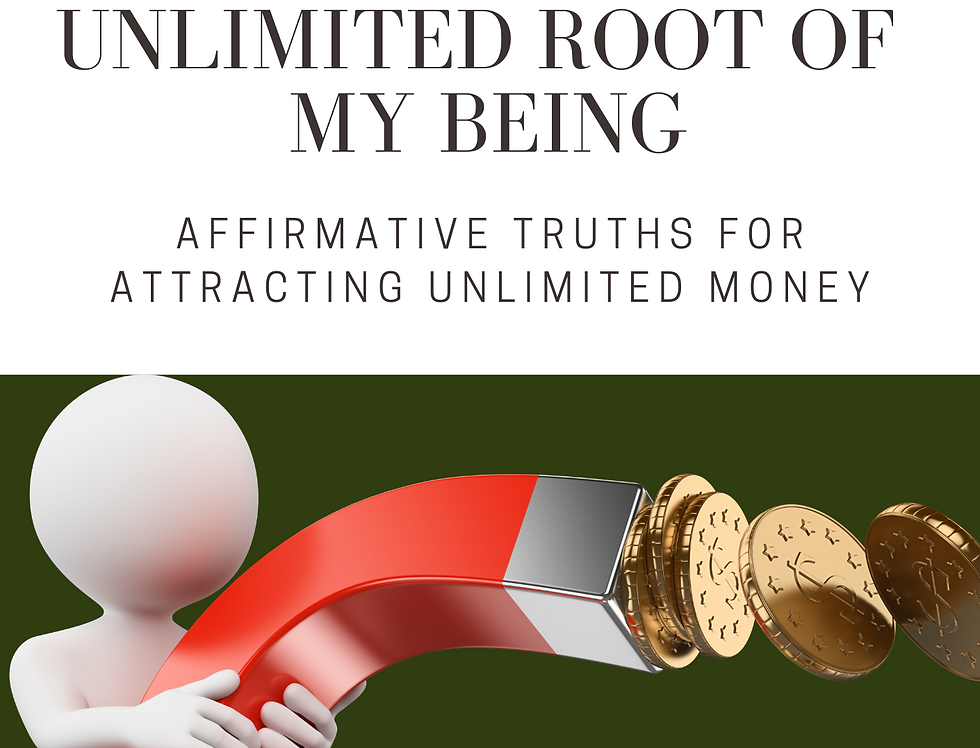 Rich and Unlimited Root of My Being
