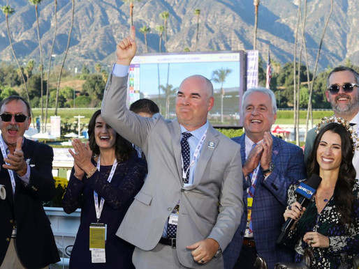 Storm the Court's co-owner calls San Vicente fourth'perfect race off the layoff' for champ