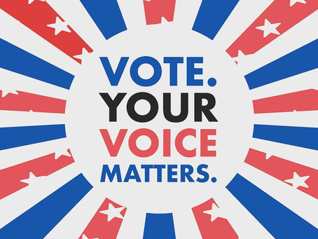 Want your voice to be heard? VOTE!