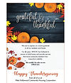 Happy Thanksgiving from WHCHC