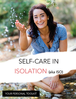 Self-care in isolation