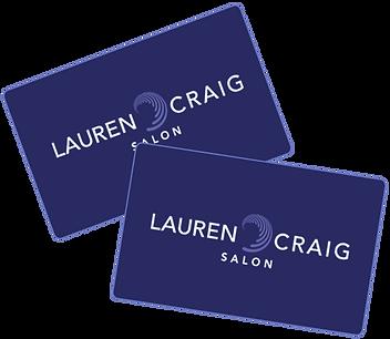 Lauren Craig Salon Gift Card