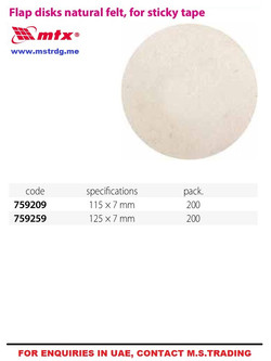 BUFFING DISC
