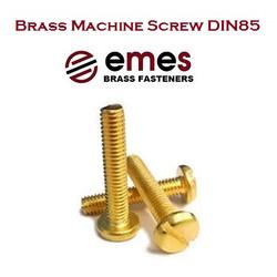 BRASS PAN HEAD MACHINE SCREW