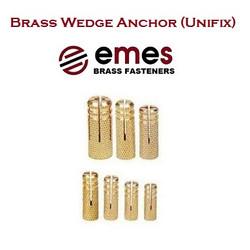 BRASS WEDGE ANCHOR (UNIFIX)