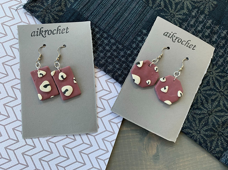 Dancing Onigiri Earrings