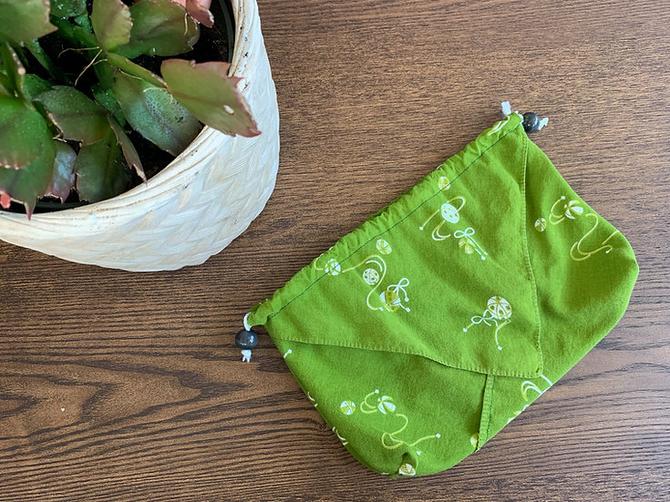 Temari Drawstring Bag