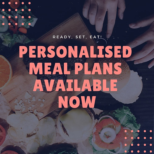 14 Day Personalised Meal Plan