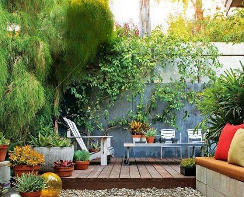 Jardins em Casas Alugadas - 10 Ideias pra Deixar com a Sua Cara e Dentro do Orçamento
