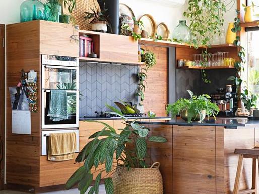 Cozinhas com Plantas - 13 Inspirações