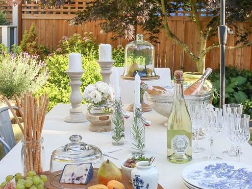 Refeições no Jardim - 16 Inspirações para criarem um clima gostoso em casa