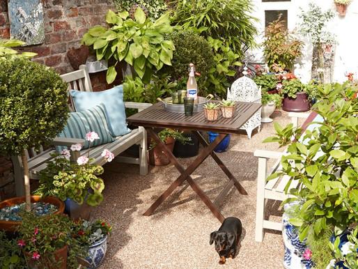 7 Ideias para Otimizar um Jardim Pequeno