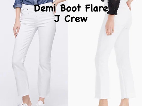 WHITE JEANS AND WHAT'S IN  RIGHT NOW…..Let's dive right in!!