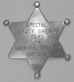 As a Special Deputy Sheriff