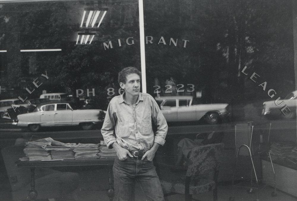 Vista Volunteer Jim Houser in 1965