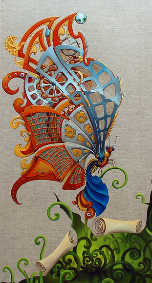 """""""The Big Wing (Mechanical Butterfly #2)"""""""