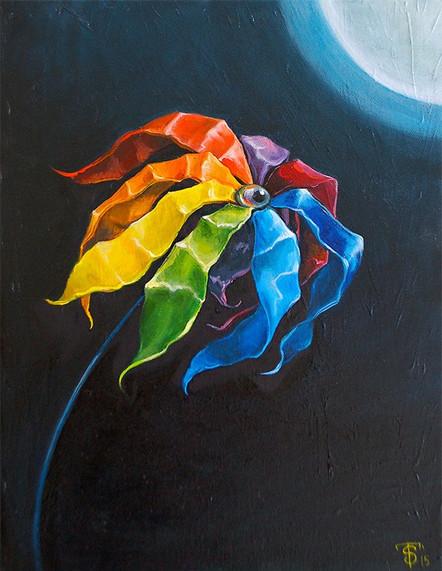 """""""Rainbow Daisy"""""""