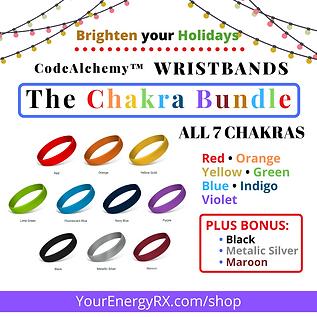 WRISTBAND Chakra Bundle 2[silver bonus]