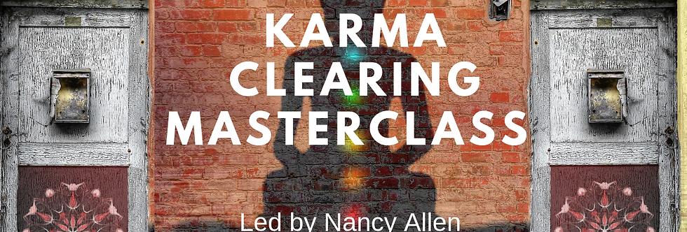 Karma Clearing Masterclass