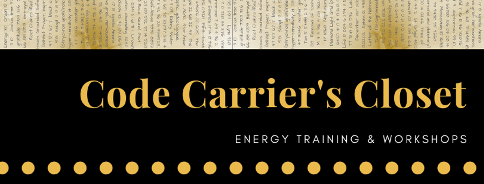 Code Carrier's Closet-energy training.pn