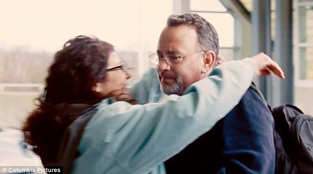 Catherine Keener and Tom Hanks